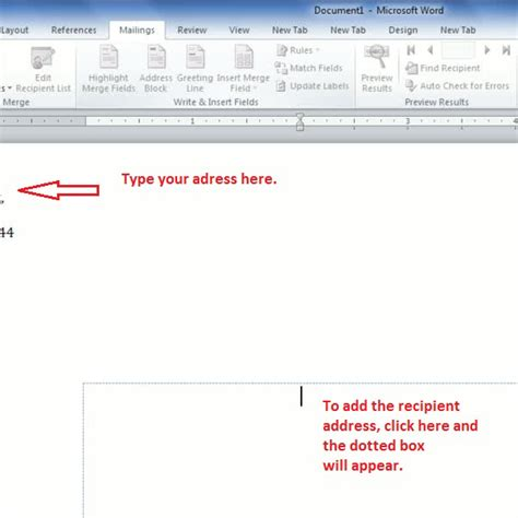 How To Create Envelope Labels In Word