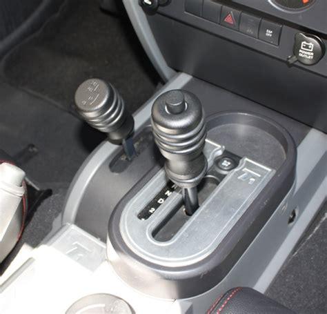 2007 10 jeep wrangler jk 4wd gear shift knob prt jp1011sb