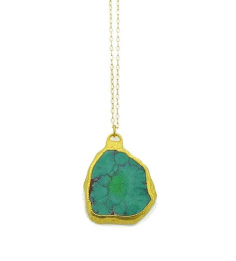 green turquoise necklace tocca jewelry handmade gemstone