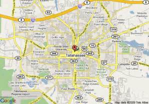 tallahasse florida map map of doubletree hotel tallahassee tallahassee