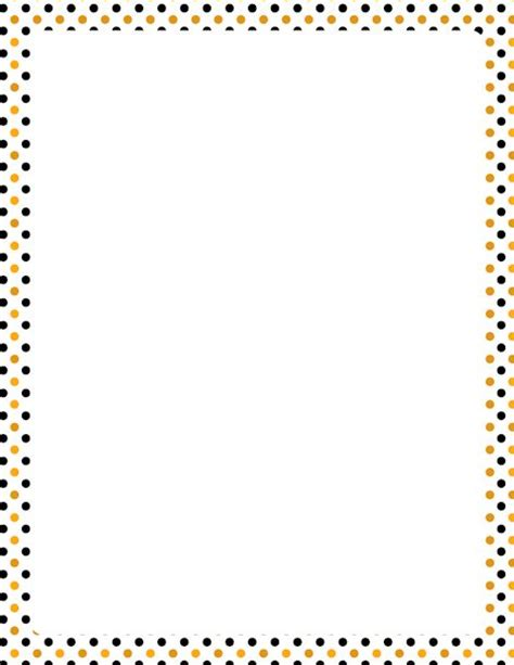 printable polka dot border paper printable halloween polka dot border free gif jpg pdf