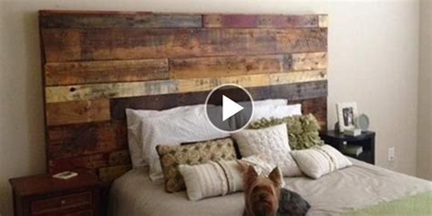 Diy Rustic Headboard Ideas by Fabulous Rustic Headboard Made Out Of Pallets It S So
