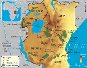 East Africa Map by Best Of East Africa Overview Africa Tours See The Best Of
