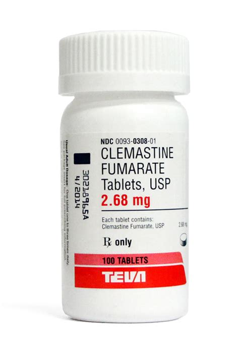 Frego 5 Eceran Per Tablet clemastine 2 68mg per tablet