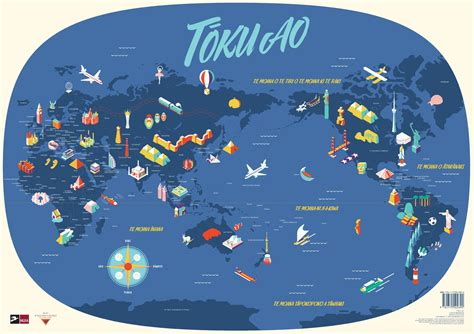 map world poster buy poster size world maps inte reo maori