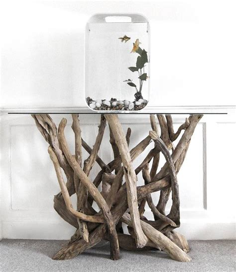 driftwood console table by miller doris brixham