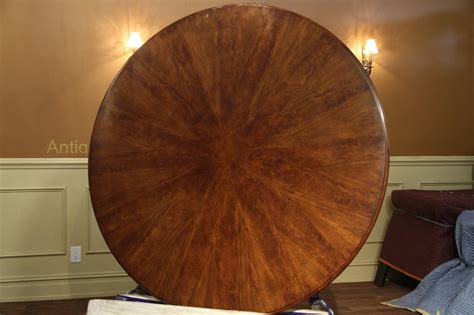 66 inch round expandable round walnut dining formal traditional