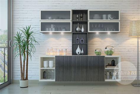 Crockery unit designs enlimited interiors hyderabad top interior designing company