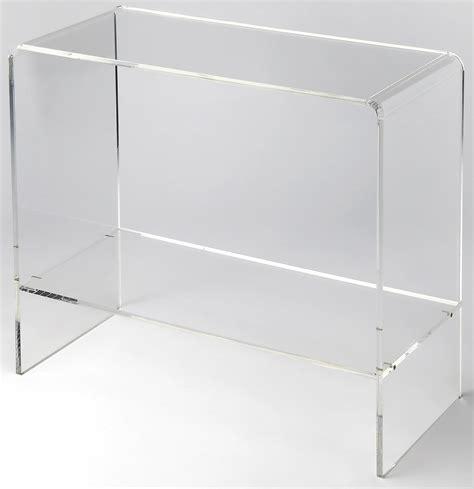 Crystal Clear Acrylic Console Table 3610335 Butler Clear Acrylic Sofa Table