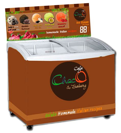 Freezer Gelato catalog and prices of showcases display cart