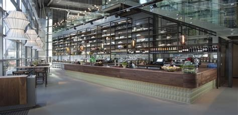 Open Kitchen Bar Design The Drift Review Liverpool Street Restaurant Bar London