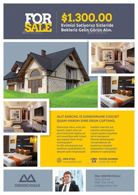 Real Estate Flyer Template 27 Free Psd Ai Vector Eps Format Download Free Premium Templates Free Real Estate Flyer Templates Word