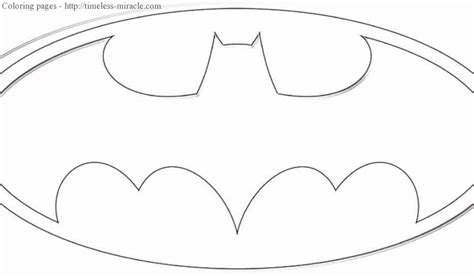 coloring pages of the batman symbol batman symbol coloring page