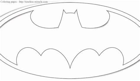 batman sign coloring page batman symbol coloring page