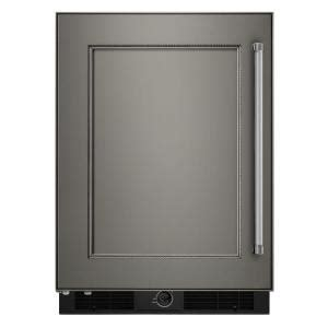 kitchenaid 24 in w 4 9 cu ft undercounter refrigerator
