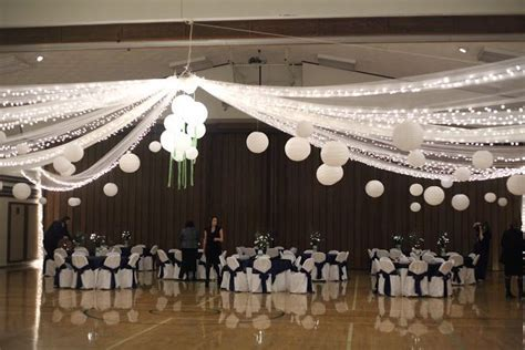 LDS Cultural Hall Wedding Decorations   Doesn't look like