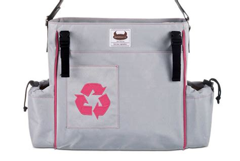 Dante Beatrix Bag by Recycled Pet Stroller Totes By Dante Beatrix Inhabitots