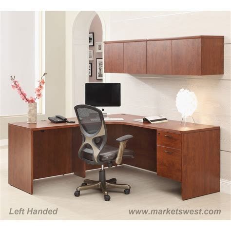 wall mount laptop desk brown mahogany l shape desk 72 quot x72 quot with computer corner wall mount