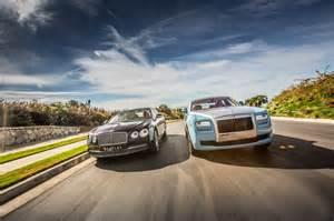Is Rolls Royce And Bentley Same Company 2014 Rolls Royce Ghost Vs 2014 Bentley Flying Spur