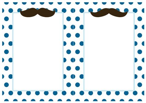 mustache template for baby shower free mustache party printables man baby shower