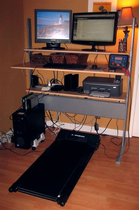 Craigslist Standing Desk by Inexpensive Alternative To Treaddesk Treadmill Here S My