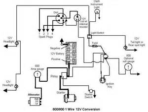 ford naa 12 volt wiring diagram ford model a and 12 volt conversion diagram wiring diagrams