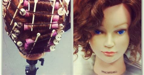 beauty school perm perm rods with no solution before and after beauty