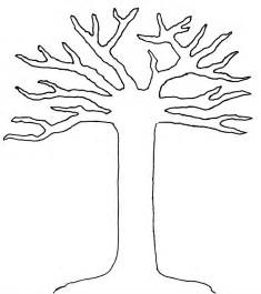 Tree Cut Out Template by Welcome Fall Toddler Craft 500babies