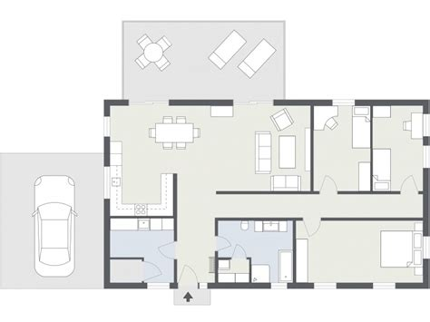 2 Bedroom Home Plans by 2d Grundrisse Roomsketcher