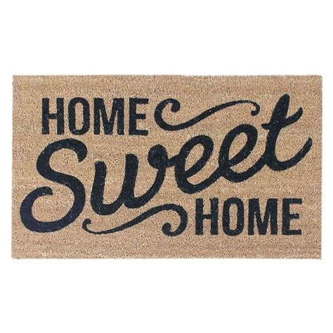 home sweet home household clearance home sweet home doormat 18 quot x30 quot threshold target