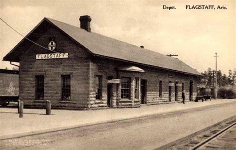 flagstaff arizona depot early 1900s photo