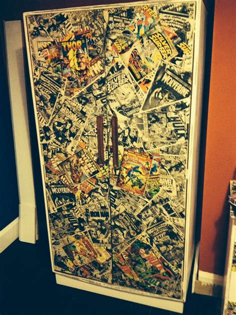 Decoupage Wardrobe - spider decoupage wardrobe home