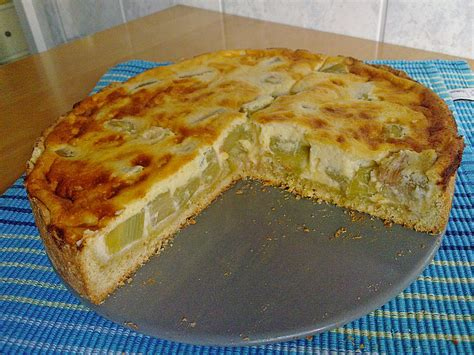 rhabarber quark kuchen rhabarber quark kuchen kuechenfee2310 chefkoch de