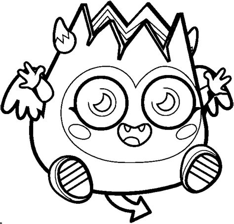 Printable Moshling Coloring Pages Coloring Me Moshling Colouring Pages