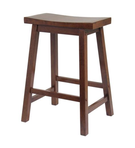 24 Inch Saddle Bar Stools by 24 Inch Saddle Bar Stool Antique Walnut In Counter Height Bar Stools
