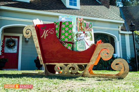 Diy Outdoor Lawn Decorations Nana S Workshop Santa Won T Be Able To Tell The Difference Kennethwingard Diys The Ultimate Sleigh For Your