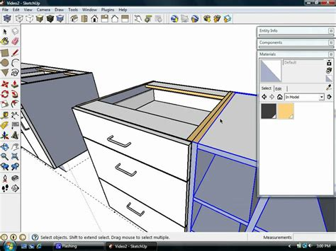 sketchup layout warning sign sketchup kitchen design dynamic components quot cabinets