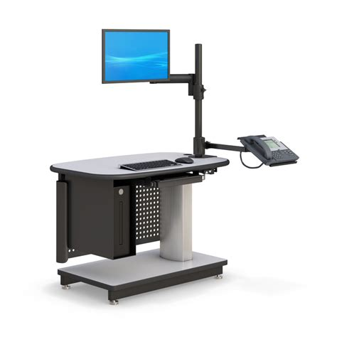 hydraulic standing desk pneumatic height adjustable standing desk afcindustries