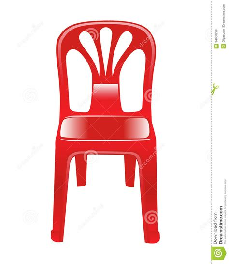 Plastikstuhl Lackieren by Shiny Chair Stock Vector Image Of Furniture Chair