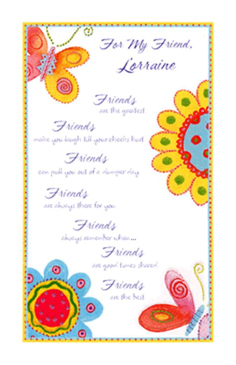 friendship card templates friends are the best greeting card everyday friend