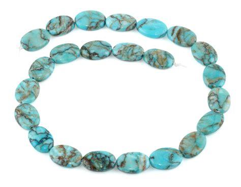 13x18mm turquoise oval gemstone