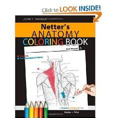netter s anatomy coloring book 1000 images about netter anatomy on
