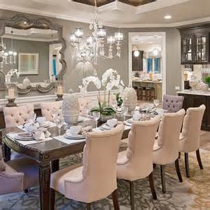 Fancy Dining Room Designed To Sell Color Trends The High Potential