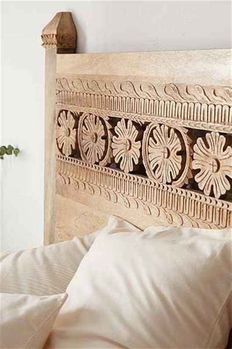 carved headboards for beds pranati carved headboard urban outfitters awesome and