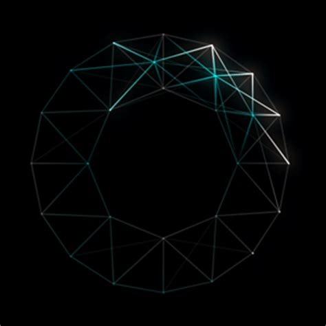 geometric pattern after effects animation art gif by motion addicts find share on giphy
