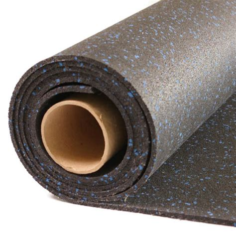 Rolled Rubber Mats by Home Rubber Flooring Roll 4x10 Ft X 1 4 Inch Home
