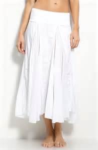 112 hard tail voile long maxi skirt m white gauze ebay