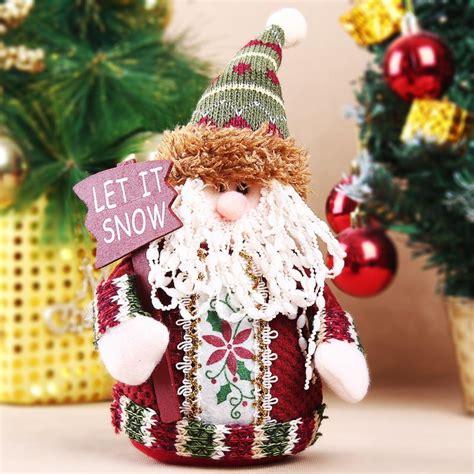 1pc hot selling cute santa claus christmas ornaments