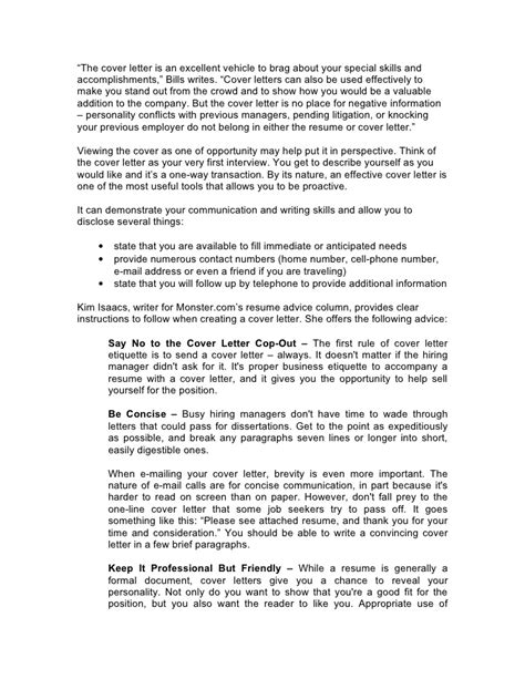 cover letter advice critical cover letter advice