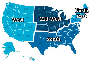 us map divided south east west pem crc new survey listserv member